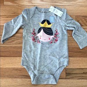 """🆕 Baby Gap onesie """"Tiny Princess """" 👑"""